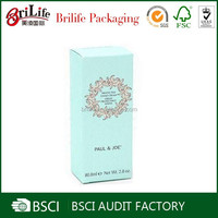 Custom hot selling natural skin care product packaging