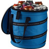 Collapses 600D polyester barrel shape 24 cans cooler bag