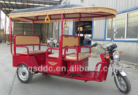 3 wheels tricycle for Indian Market e rickshaw