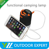 Brightest Mini Portable Rechargeable 8 Led Camping Lanterns with Battery Operater Led Small camping lights