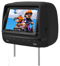 lcd 7 inch touch button headrest car dvd , 7'' car dvd player with sd,car dvd player
