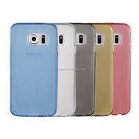 Pure color TPU case for Samsung S6