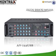 OEM 180W amplificador AV-733USB con precio competitivo