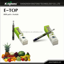 Wholesale Price e cigarette disposable e-hookah for germany free sample free shipping