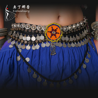ATSJ01056 imported coins ATS Belly Dance belt