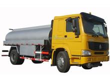howo 6*4 fuel tank truck guangzhou