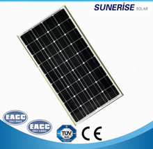 solar modules monocrystalline solar panels customized mono solar panel with high effiency for 100W