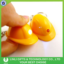 Very Cheap Promotional Gifts Led Helmet Keychain For Sale