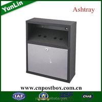 Hot sell metal park designed outdoor rubbish chute