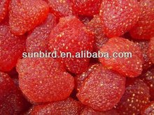 Chinese healthy frozen whole strawberry hot sale FD product in bulk freeze dried strawberry