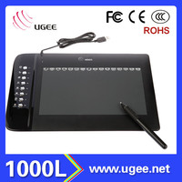 Ugee M1000L for designers best 10 inch handwriting tablet pc