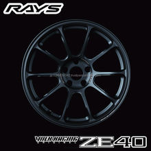 Durable RAYS ZE40 car alloy wheel available in three colors
