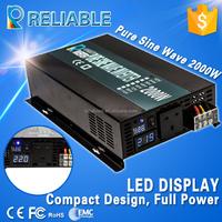 hot sale 48v 220v 2kw pure sine wave solar power inverter with LED diaplay