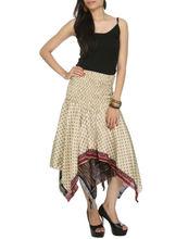 Dama de la moda falda midi, elegante falda para adolescentes, el último de la moda del diseñador de las señoras faldas
