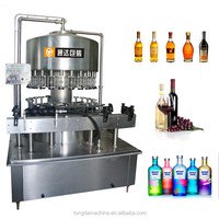 alcoholic beverages automatic filling machine,beverage manufacturing filling equipment