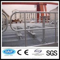 Hot dipped galvanized pvc coated steel grating