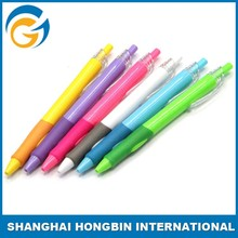 Shanghai Ball Pen Ball Point Pen Clear Plastic Pen