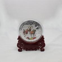 custom cheap metal art tourist souvenir plates for gifts