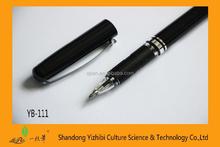 Black Gel Ink Pen with cap
