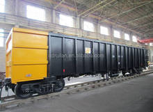 Hot Sale Railroad Flat Cargo Freight Wagon With Rail And Flatbed