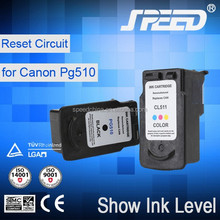 Guaranteed 100% Recycled Ink Cartridges for Canon Pg510 Suitable for Canon Pixma IP2700 MP240 MP280 with Less 1% Defective Rate