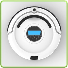 newest robot vacuum cleaner with LED and UV light hom-bot