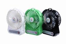 Lithium ion batteries desktop hot selling portable usb mini fan for desk top