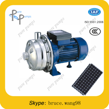 SS304 solar surface water pump DC surface centrifugal solar water pump