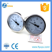 Feilong industrial stainless steel bimetalic thermometer