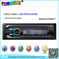 car audio video car dvd player with aux in WMA ID3 usb sd