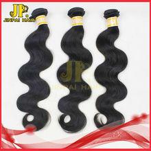 JP luxury human hair image of excellent taste body wave virgin Peruvian hair