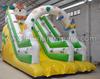 slide type zoo park animal Lovely tiger inflatable slide