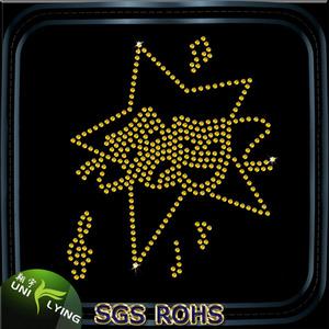 Золотая Звезда исправление горный хрусталь шпильки для одежды