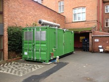 Built to order portable plant room