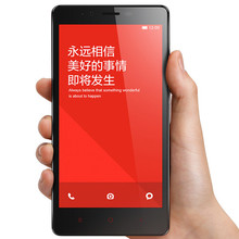 "Original Xiaomi Redmi Note 4G LTE Mobile Phone Qualcomm Quad Core 5.5"" HD 1280x720 2GB RAM 16GB ROM 13MP Android 4.4 MIUI"