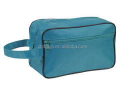 Toiletry Cosmetics Bag for travel, large handle travel toiletry bag,purple cosmetic bag