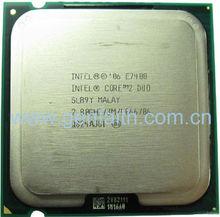 Hot intel Core 2 Duo SLGW3/SLB9Y E7400 stock