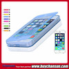 Soft crystal TPU flip silicone case cover for iphone 5 5s 6 hot sale