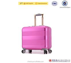Superior high quality aluminum trolley luggage