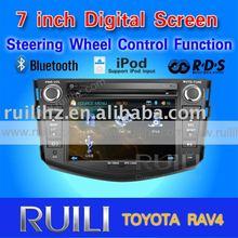 "8"" touch screen car audio TOYOTA RAV4 3D animation UI"