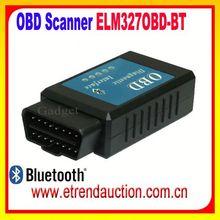 2015 Original high quality OBD2/OBDII scanner ELM 327 V2.1 car diagnostic interface scanner tool Super mini ELM327 bluetooth