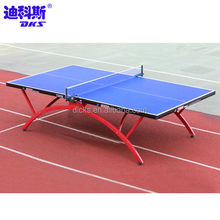 Official Size Blue Table Tennis Table For 18 mm Thickness