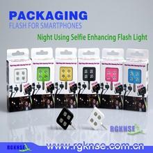 bluetooth selfie stick phone led flash