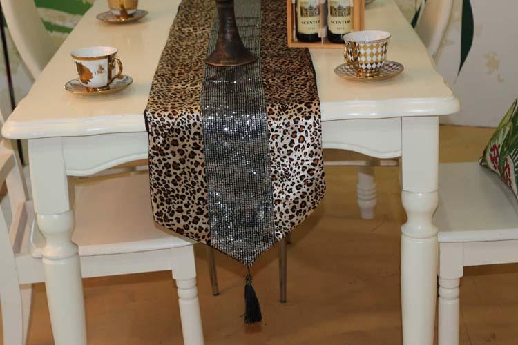 32 x 200 cm leopard animal print moderno minimalista camino de ...