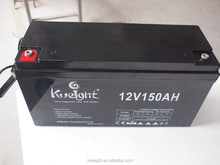 12V 150Ah long charging life lead acid battery