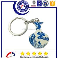 Customized gift 3d keychain/ bottle keychain/ metal keychain