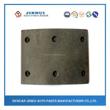 truck spare parts brake linings for Dongfeng EQ145
