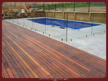glass pool fence/tempered glass pool fence panels
