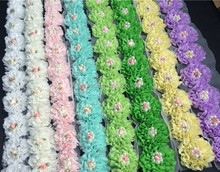 Popular rose fabric flower wholesale- cheaper price - higher quality- faster shipping