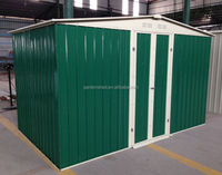 Outdoor Metal Shed Dark Green TKA10'x6'